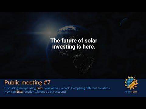 Public meeting #7 | Incorporating Enex Solar
