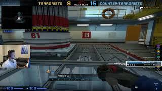 CS GO MOOSE ninja defuse in mm game with Freakazoid