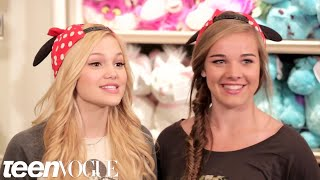 Besties Word Association: Disney Edition with Oliva Holt – Besties – Teen Vogue