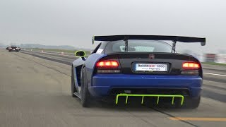 Dodge Viper SRT 10 ACR - Great Exhaust Sounds!