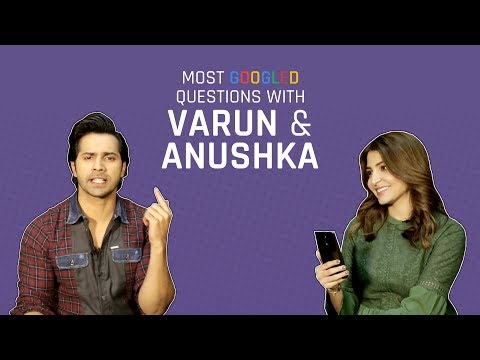 MensXP: Anushka Sharma And Varun Dhawan Answer The Most Googled Questions About Them