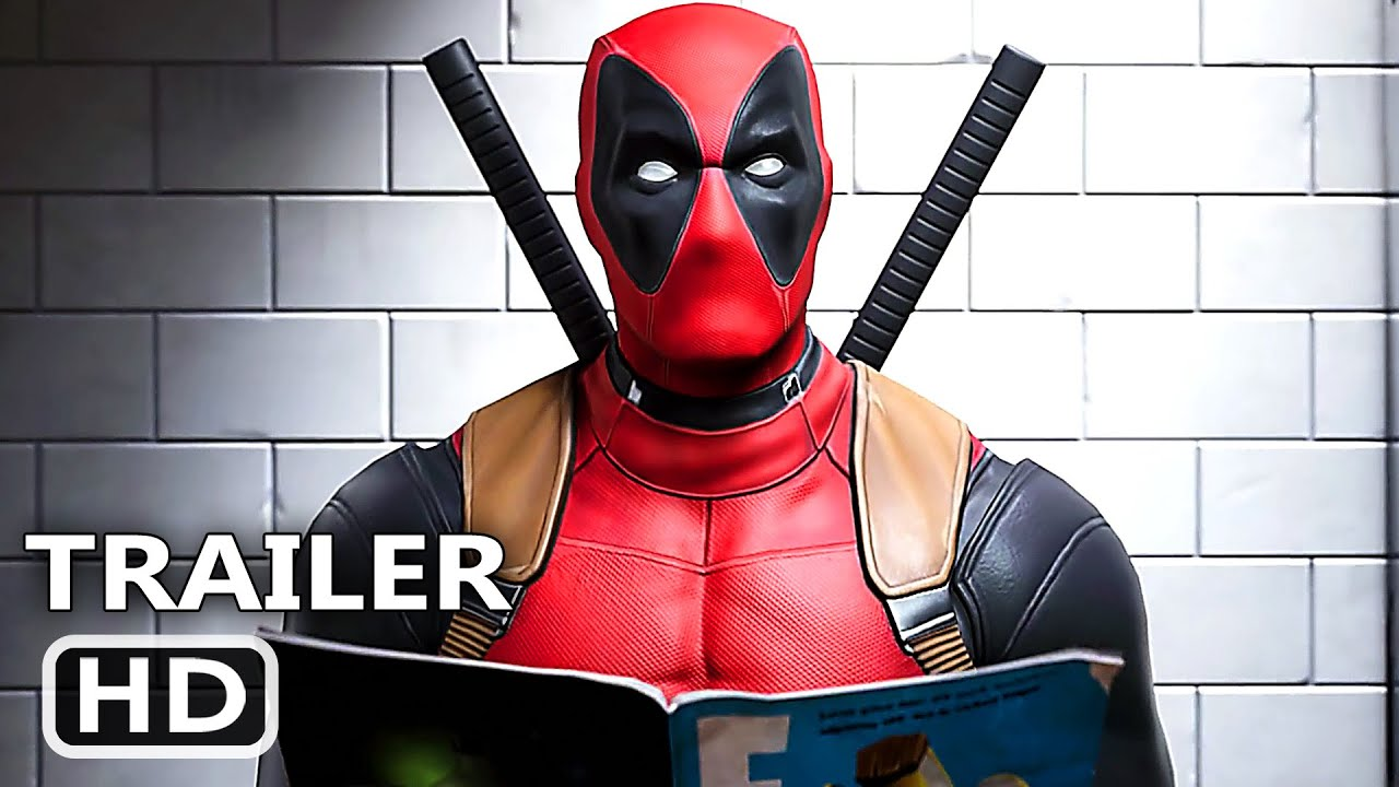 DEADPOOL in FORTNITE Official Trailer (NEW 2020) Video Game HD