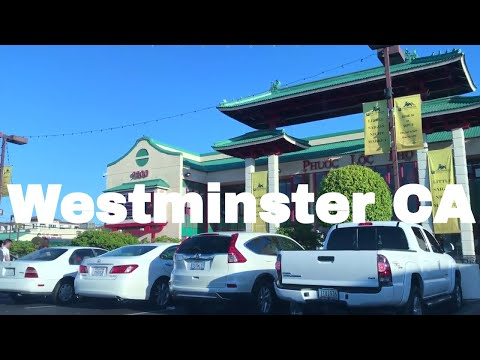 🔴  Westminster CA Realtor Driving Tour 1080P