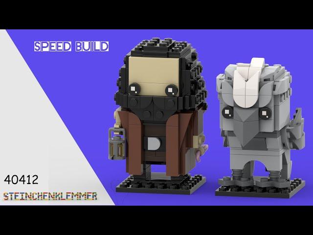 40412 Hagrid™ & Seidenschnabel™ | Speed Build