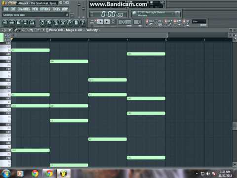 how to make synth-the spark (Afrojack) fl studio