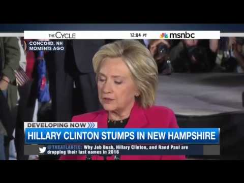 MSNBC's Seitz-Wald: Clinton Dodges Both on Trade and Obama's Income Inequality Record