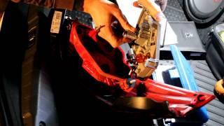 Peugeot 508 - Замена лампы заднего хода на светодиодную.