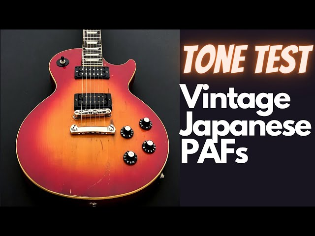 Dark Lord lives! Rescued Yamaha Studio Lord Les Paul (Japanese lawsuit era) MIJ PAF Tone Test