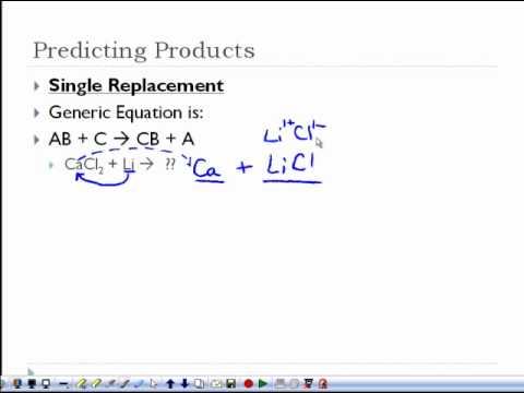 Chemical Reactions Workshet 04 - Chemical Reactions Workshet