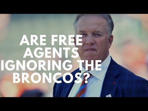 Are Free Agents Ignoring The Denver Broncos?