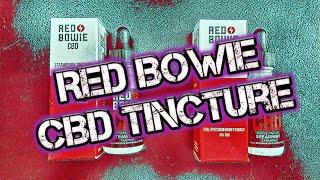 Red Bowie CBD Tincture