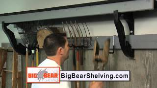 Garage Organization Ideas From Big Bear, Heavy Duty Shelf Brackets