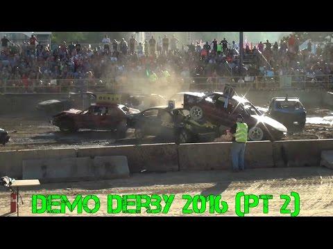 Benton County Demo Derby 2016 (Part 2)