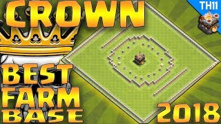"CoC- ""NEW! TH11""(CROWN) TH11 CIRCULAR DE PROTECT BASE