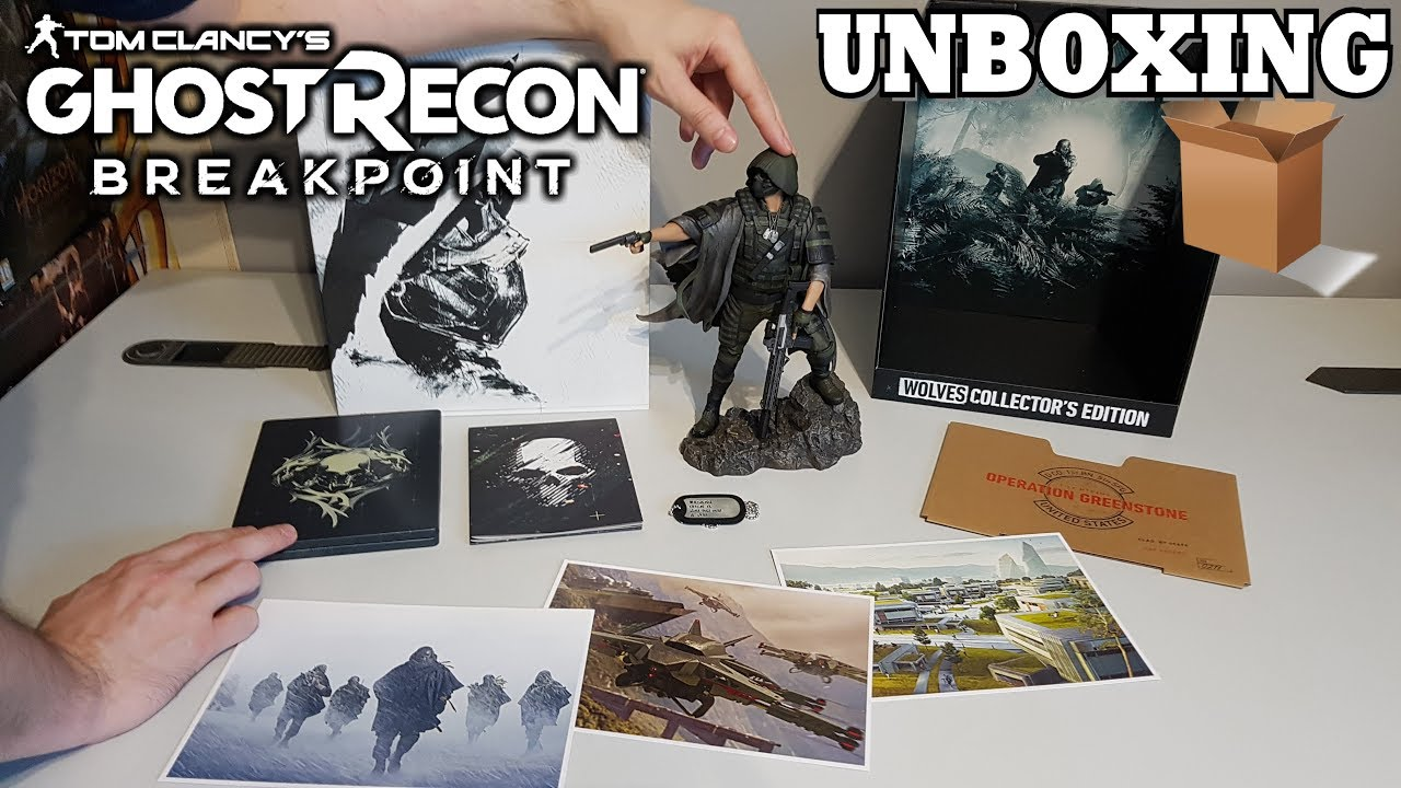 Unboxing Ghost Recon Breakpoint Wolves Collector S Edition