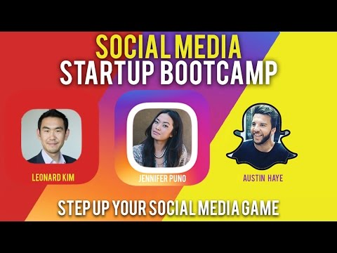 Social Media Startup Bootcamp - Grow Your Brand