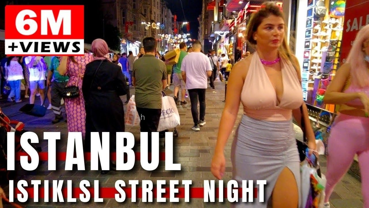 Download Istiklal Street |Night Walking Tour In The Beating heart Of Istanbul 17July 2021 |4k UHD 60fps