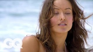 Olivia Wilde's Wild October 2009 GQ Magazine Cover Shoot - The Women of GQ