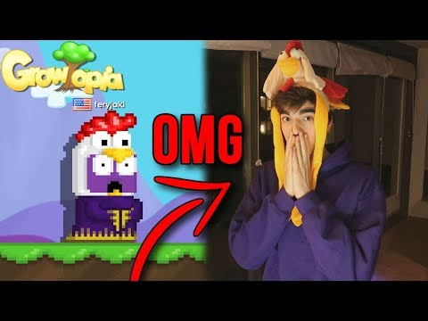 DRESSING UP AS MY CHARACTER!! - Growtopia