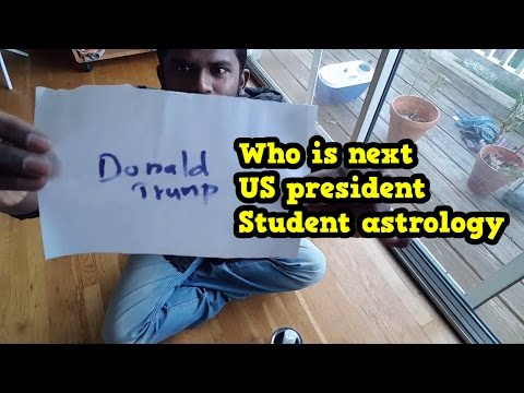 Who is next USA president 2016 - World famous student astrology method