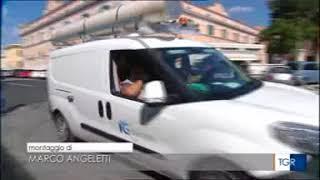 La protesta dei dipendenti Italgas al Tg3 Lazio
