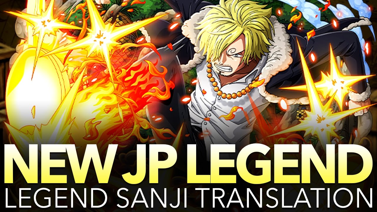 Legend Sanji Translation New Mechanic O One Piece Treasure Cruise Youtube