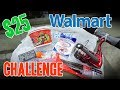 $25 Walmart CHALLENGE!!!!!!