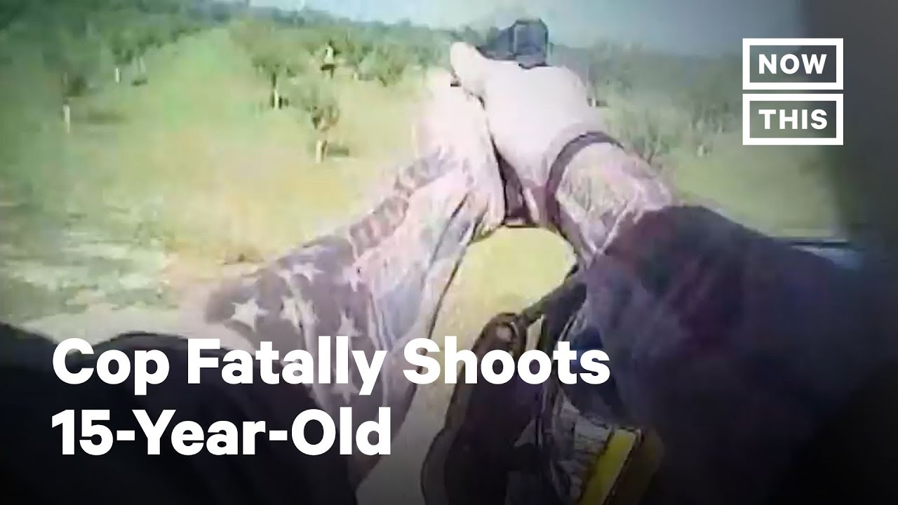 Cop Fatally Shoots Child Running Away Without Warning | NowThis