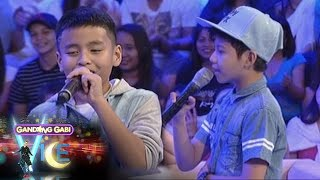 GGV: Vice Ganda tells Justin Alva and Sam Shoaf to sing a song