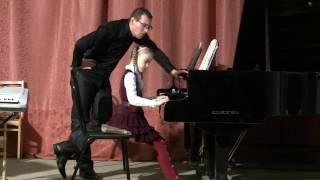 Л. Бетховен К Элизе. Открытый урок А. М. Анучина