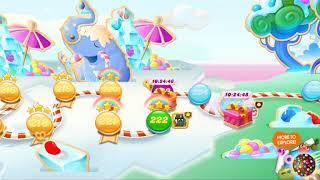 Candy Crush Soda Saga - Level 221 - 225 - Gameplay