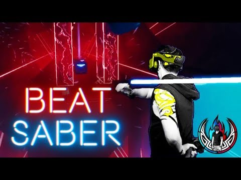 One Handed -  Beat Saber VR Turn Me On ft. Tiny C | Virtual Reality LIV