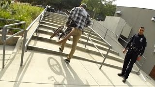 BREAKING THE LAW ON BMX BIKES