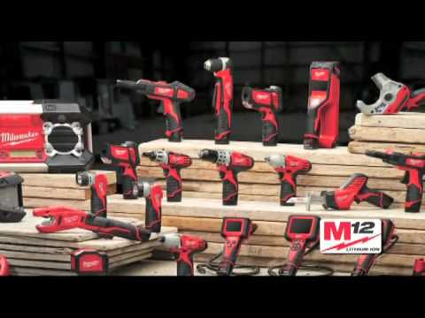 Milwaukee M12 Heavy Duty Lithium Ion Power Tool Commercial