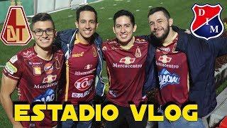 ESTADIO VLOG | GOL DE MITAD DE CANCHA DE MARCO PEREZ PUSKAS | TOLIMA 3 VS MEDELLIN 0 | LIGA AGUILA
