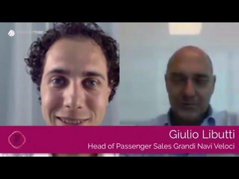 Intervista a Giulio Libutti, GNV,  finalista di Italia Travel Awards
