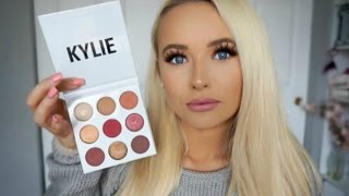 KYLIE COSMETICS BURGUNDY PALETTE ♡ Review, Swatches, Tutorial