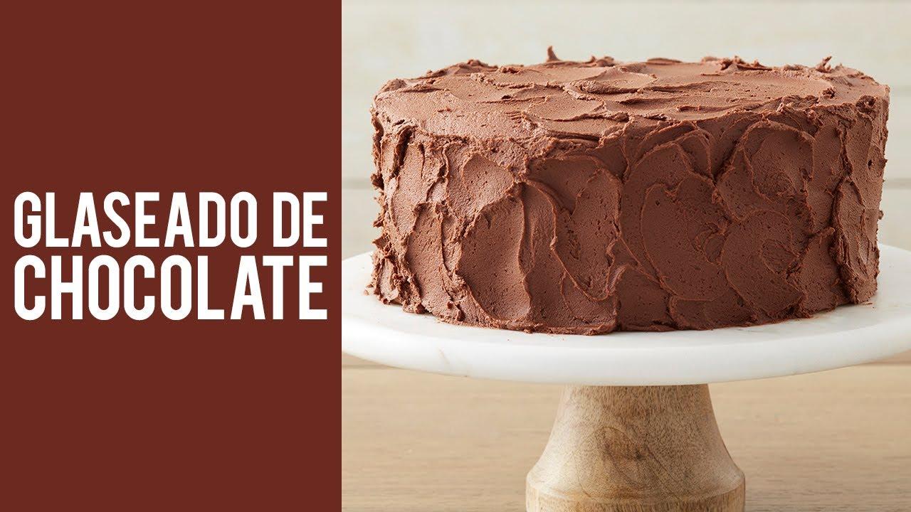 Como Hacer Glaseado De Chocolate El Más Rico Y Facil De Hacer Youtube