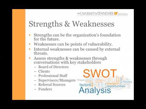539 Leadership SWOT Analysis Lecture - March 30, 2016