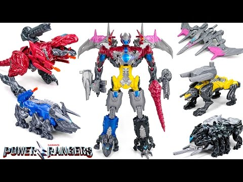Thumbnail: Saban's PowerRangers Movie The Beginning MightyMorphine FiveColors BattleMegaZord Transformation