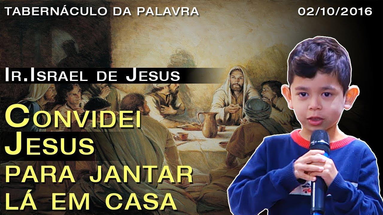 musica convidei jesus pra jantar