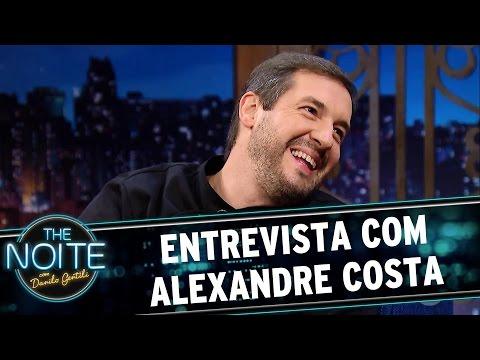 Entrevista com Alexandre Costa | The Noite (14/04/17)