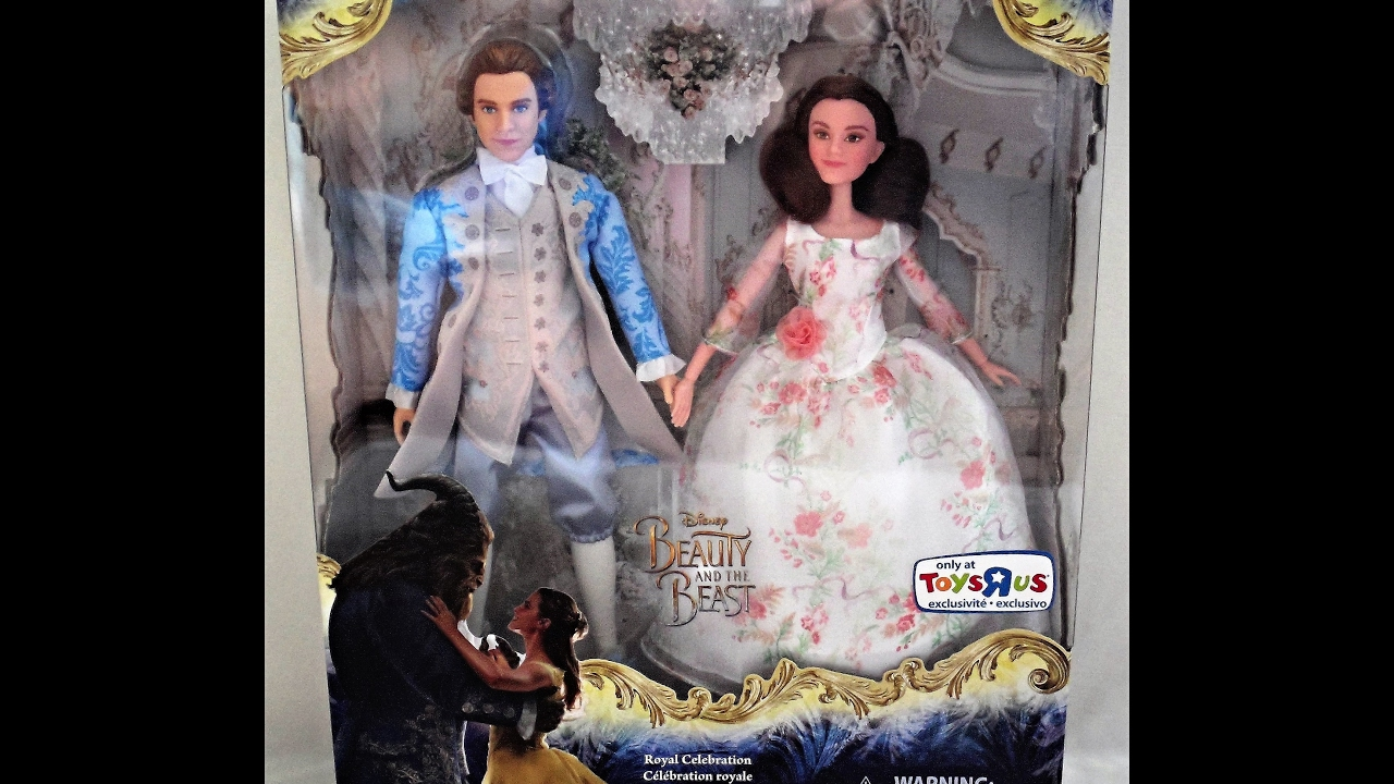 Live Action Beauty And The Beast Royal Celebration Doll Set Youtube