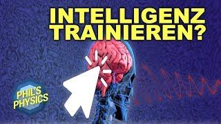 Kann man Intelligenz trainieren? Und wenn ja, wie?   Phil's Physics