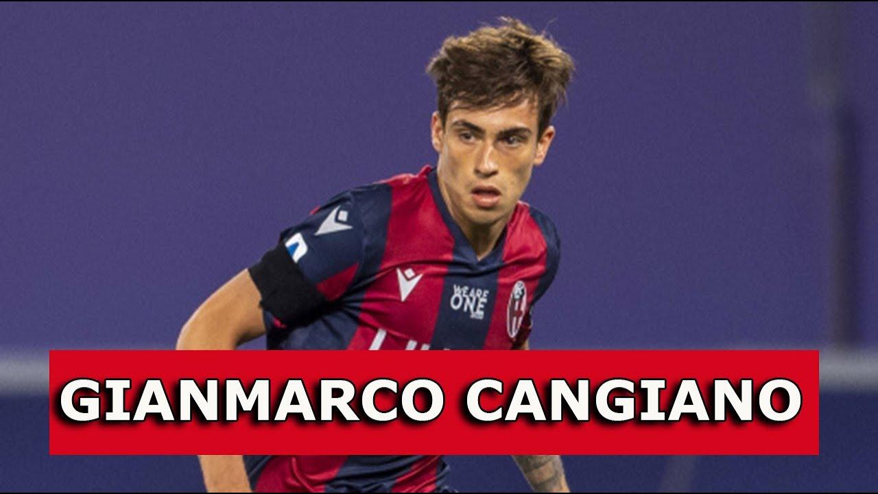 GIANMARCO CANGIANO, la Scheda: attaccante, Bologna, U19
