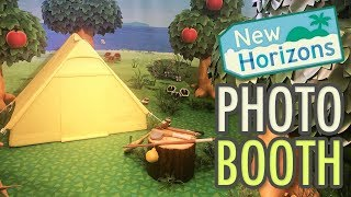 Animal Crossing New Horizons PHOTO BOOTH @ Nintendo Live 2019