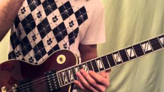 Вертушка #9. Avenged Sevenfold - Hail to the King (How to play intro solo)