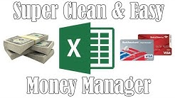 Easy Money Manager (Excel)