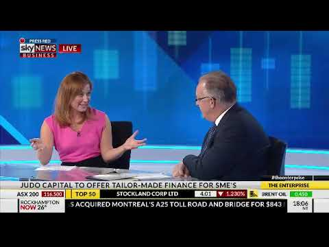 Sky Business News - David Hornery discussing finance and capital for SMEs