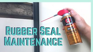 Maintaining Your Seals with 3-IN-ONE RVcare Rubber Seal Conditioner!